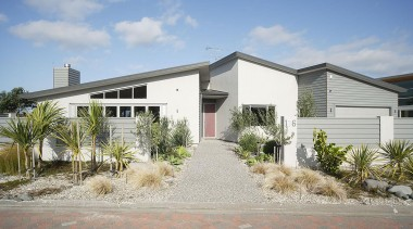 For more information, please visit www.gjgardner.co.nz elevation, estate, facade, home, house, property, real estate, residential area, gray