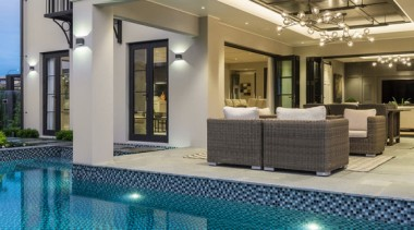 New Albany Show Home apartment, condominium, estate, floor, home, interior design, lobby, property, real estate, swimming pool, gray