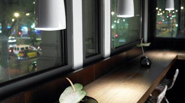 Clear from Grok, Spain furniture, glass, interior design, light fixture, lighting, table, black