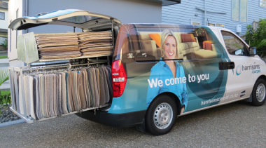 Harrisons Carpets automotive exterior, car, commercial vehicle, compact van, light commercial vehicle, minivan, mode of transport, motor vehicle, transport, van, vehicle, gray