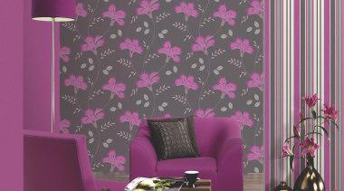 Italian Color Range curtain, interior design, magenta, pattern, pink, purple, violet, wall, wallpaper, window covering, gray, purple