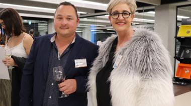 TIDA Kitchens Awards fashion, fur, fur clothing, outerwear, socialite, textile, black, white