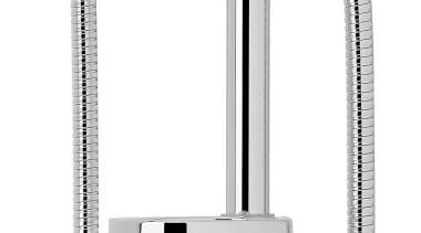 Ecomix Slide Shower VECm040 angle, bathroom accessory, hardware, plumbing fixture, product, product design, tap, white