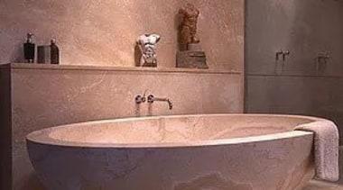 Marble Bath Tub bathroom, bathroom sink, bathtub, ceramic, floor, flooring, interior design, plumbing fixture, sink, tap, tile, wall, red, orange