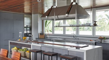See the winner and all the finalists countertop, interior design, kitchen, gray, white