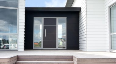 East Tamaki ShowhomeFor more information, please visit www.gjgardner.co.nz architecture, daylighting, facade, home, house, porch, residential area, siding, window, white