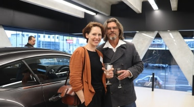 Photos of the 2017 TIDA New Zealand Homes auto show, automotive design, car, executive car, family car, land vehicle, luxury vehicle, mid size car, motor vehicle, socialite, technology, vehicle, black