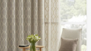 Harrisons Curtains chair, curtain, decor, floor, furniture, interior design, product design, table, textile, window, window covering, window treatment, white, gray