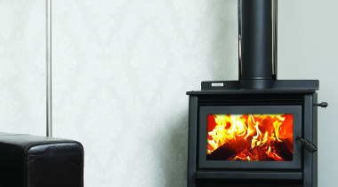 Metro Fires Wee Rad Woody 15kW Fire hearth, heat, home appliance, stove, wood burning stove, white