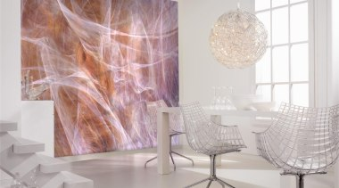 Cocoon Interieur chair, floor, flooring, furniture, glass, interior design, light fixture, living room, product design, table, wall, gray