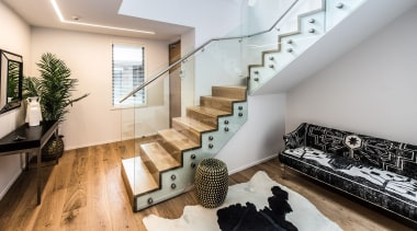 Stairs architecture, handrail, house, interior design, living room, loft, property, real estate, stairs, gray
