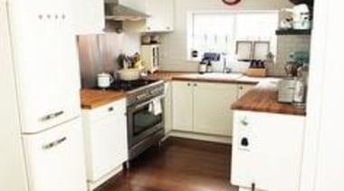 Kitchen Design Ideas by Smeg countertop, floor, flooring, hardwood, home, interior design, kitchen, laminate flooring, living room, property, room, wood, wood flooring, white