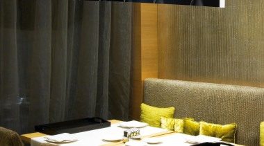 Pendant Light ceiling, furniture, interior design, lamp, light fixture, lighting, product design, table, wall, black, brown