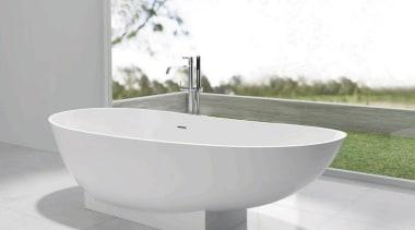 Perla bathroom sink, bathtub, plumbing fixture, product design, tap, white, gray