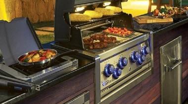 View Our Inbuilt BBQ Range buffet, countertop, cuisine, food, gas stove, home appliance, kitchen, kitchen appliance, kitchen stove, major appliance, brown