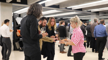 Photos of the 2017 TIDA New Zealand Homes communication, event, institution, job, black, white