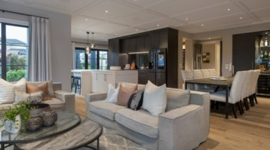 New Albany Show Home estate, home, interior design, living room, penthouse apartment, property, real estate, room, gray