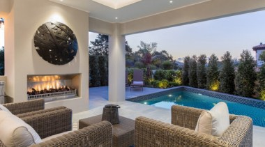 New Albany Show Home estate, home, interior design, living room, property, real estate, swimming pool, gray