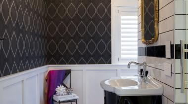 See more from Bespoke Kitchens on Khyber bathroom, ceiling, floor, flooring, home, interior design, room, tile, wall, wood flooring, black, gray