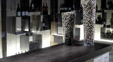 Adagio from Grok, Spain display window, furniture, glass, product design, table, tourist attraction, black