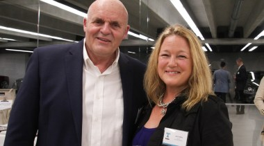 David Johnson with Alice Keen from Active Design car, profession, professional, socialite, technology, vehicle, black