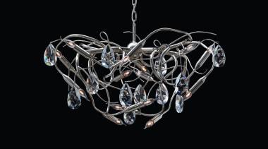 Brand van Egmond - Gaia Chandelier chandelier, light fixture, lighting, product design, black