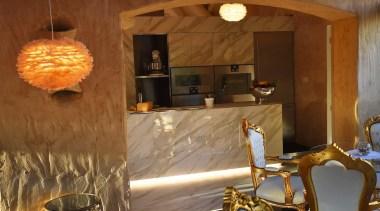 MBT interior design, lighting, room, brown