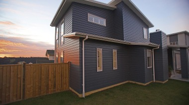 For more information, please visit www.gjgardner.co.nz building, elevation, facade, home, house, property, real estate, residential area, roof, shed, siding, brown, black