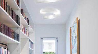 Pendant Light ceiling, daylighting, interior design, light fixture, lighting, product design, shelf, shelving, window, gray