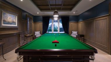 Games room billiard room, billiard table, blackball pool, carom billiards, cue sports, english billiards, games, indoor games and sports, pocket billiards, pool, recreation room, room, snooker, table, black