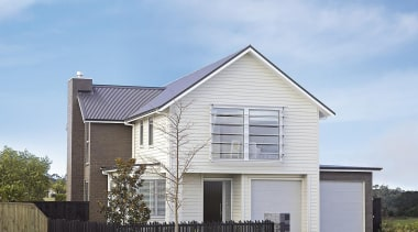 For more information, please visit www.gjgardner.co.nz architecture, building, cottage, elevation, facade, farmhouse, home, house, property, real estate, residential area, roof, siding, suburb, gray