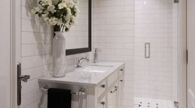 Bathroom bathroom, bathroom accessory, countertop, floor, flooring, home, interior design, room, sink, tile, gray