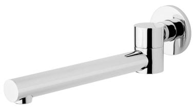Icon Swivel Bath Spout ICON09 bathtub accessory, hardware, hardware accessory, plumbing fixture, product, tap, white