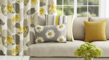 Harrisons Curtains couch, curtain, furniture, home, interior design, living room, table, textile, window, window covering, window treatment, yellow, white