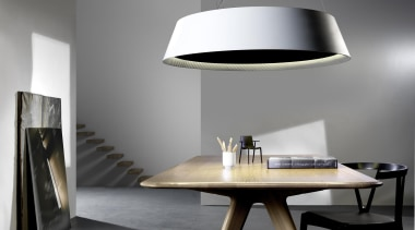 Pendant Light furniture, interior design, lamp, light fixture, lighting, lighting accessory, product design, table, gray