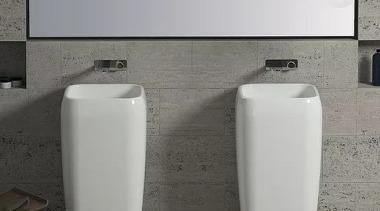 Shui by Cielo bathroom accessory, bathroom sink, ceramic, plumbing fixture, product design, sink, tap, toilet, toilet seat, urinal, gray