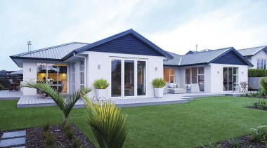 For more information, please visit www.gjgardner.co.nz cottage, elevation, estate, facade, farmhouse, home, house, property, real estate, residential area, siding, villa, window, yard, white