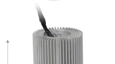 FeaturesDesigned in a high quality cast fittingSupplied with product, product design, white, gray