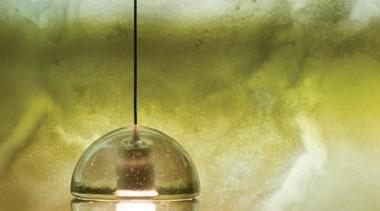Series 14 - Bocci Light light, lighting, macro photography, water, yellow, brown