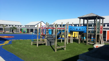 Pre-school, primary & seconday education city, leisure, outdoor play equipment, playground, public space, recreation, teal