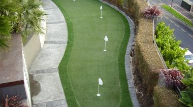 Sport artificial turf, garden, grass, green, landscape, landscaping, lawn, plant, tree, walkway, green, gray
