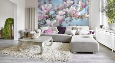 Magnolia Interieur furniture, home, interior design, living room, room, table, wall, window, gray, white