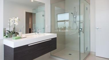 gjgardner0206.jpg bathroom, bathroom accessory, bathroom cabinet, glass, interior design, product design, room, gray