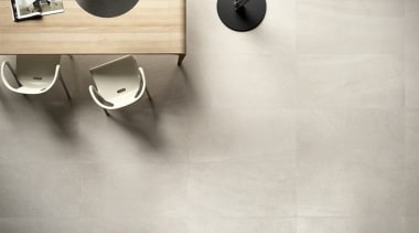 Limestone by Cotto D'Este black and white, floor, flooring, product, product design, tap, tile, gray