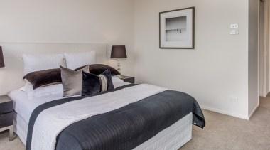 Bedroom bedroom, floor, furniture, home, interior design, real estate, room, suite, gray
