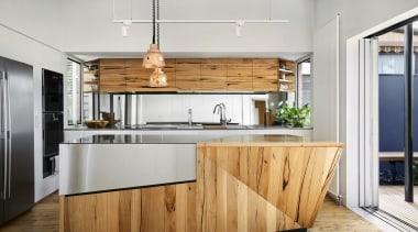 Austin Maynard Architects cabinetry, countertop, cuisine classique, interior design, kitchen, white, gray