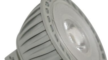 Features	Same size as an MR16 12V Halogen Lamp product, gray, white