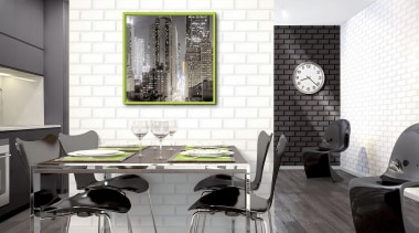 Italian Color Range ceiling, chair, floor, flooring, furniture, interior design, living room, product design, table, tile, wall, white, gray