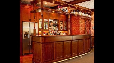 Laundry, bar, scullery, library designs, and more, we bar, cabinetry, furniture, interior design, lobby, red, black