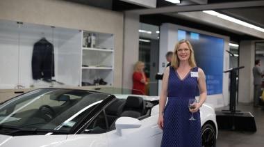 Rebecca Clarke auto show, automotive design, automotive exterior, car, motor vehicle, personal luxury car, sports car, supercar, vehicle, gray, black